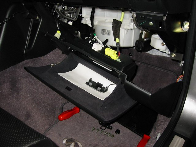 nissan 350z ecm location
